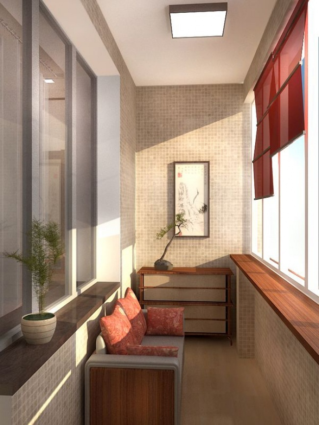 Дизайны балконов маленьких